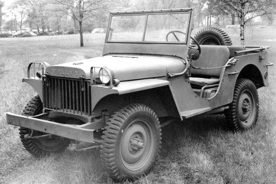 La Jeep a débuté comme une Willys MA en 1941.