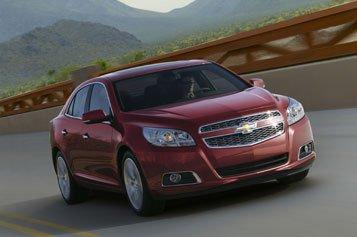 La nouvelle Chevrolet Malibu sera présentée sur internet lundi soir, simultanément à son dévoilement au Salon de l'auto de Shanghaï.