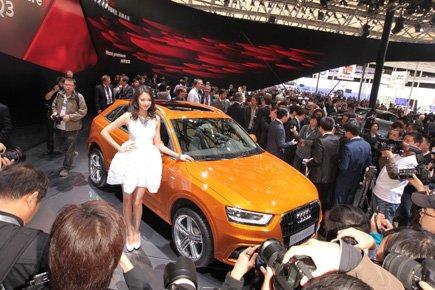Une Audi Q3.