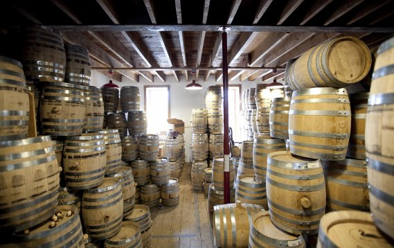 La distillerie Tuthilltown Spirits à Gardiner. (Marco Campanozzi, La Presse)