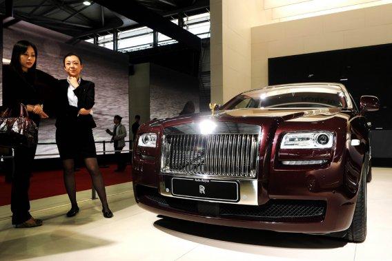 La Chine a détrôné l'an dernier la Grande-Bretagne de la deuxième place  du classement des ventes de Rolls-Royce, derrière les États-Unis.