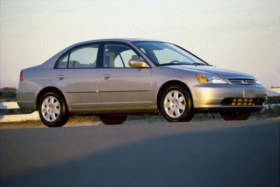 La Honda Civic 2002.