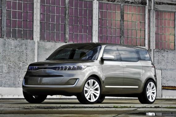 La rumeur veut que les ingénieurs de Kia préparent une nouvelle fourgonnette inspirée du rafraîchissant concept KV7.