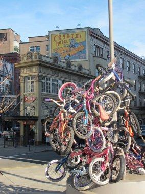 Le vélo est partout à Portland (Marie-Claude Lortie, La Presse)
