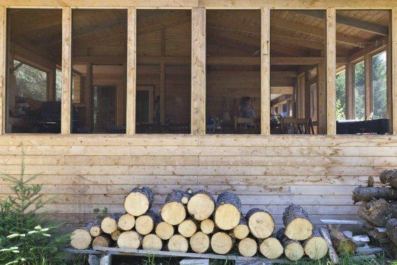 un chic shack marie france l ger immobilier. Black Bedroom Furniture Sets. Home Design Ideas