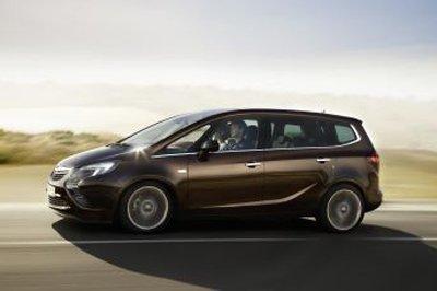 La nouvelle Zafira Tourer, l'un des modèles qui seront présentés à Francfort par Opel.