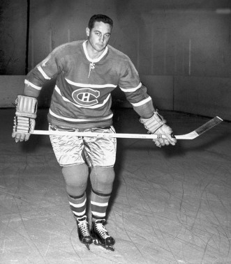 Jean Béliveau en 1961. (Jean-Yves Létourneau, Archives La Presse)