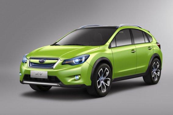 Dévoilée sous forme conceptuelle (photo) à Shanghai en avril, la Subaru XV devrait être lancée à la fin de l'année.