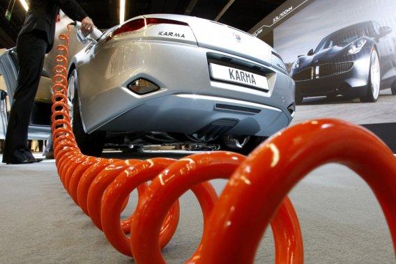 Pour la première fois à Francfort, un hall dexposition entier sera consacré à la voiture électrique. Un congrès sur le sujet se tiendra le 21 septembre.