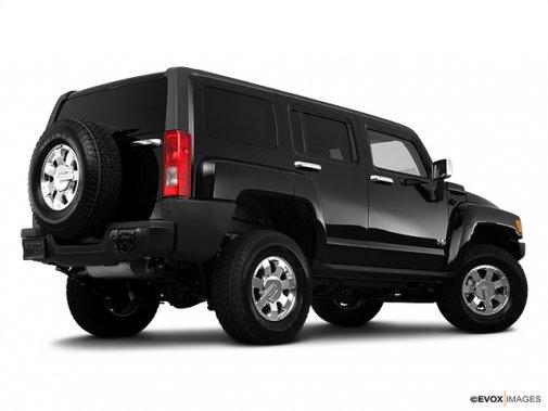 HUMMER - H3 2010 - 4 RM 4 portes VUS - Plan latéral arrière (Evox)