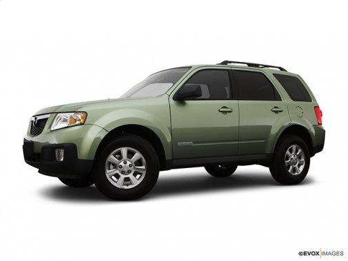 Mazda - Tribute 2008 - Traction avant, V6, boîte automatique, GS - Plan latéral avant (Evox)