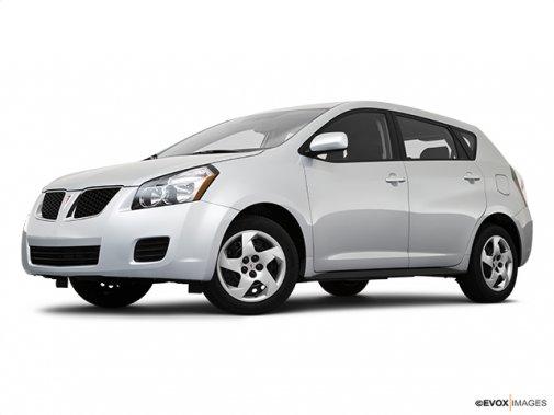 Pontiac - Vibe 2010: Jusqu'à épuisement des stocks - Familiale 4 portes, traction avant - Plan latéral avant (Evox)
