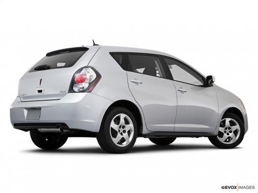 Pontiac - Vibe 2010: Jusqu'à épuisement des stocks - Familiale 4 portes, traction avant - Plan latéral arrière (Evox)