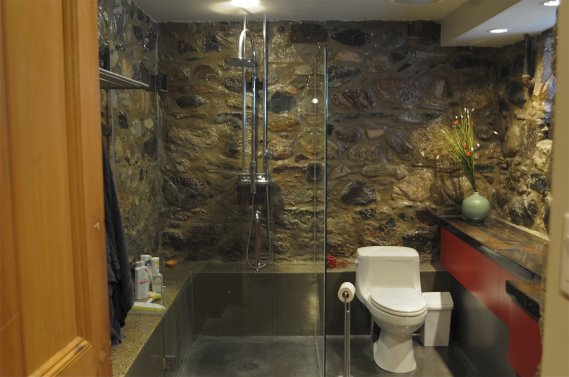 Une centenaire r nov e val rie v zina maisons de luxe - Renovation sous sol idee ...