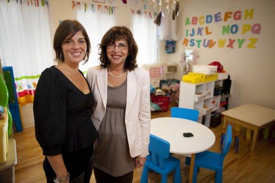 La Dre Vania Jimenez et sa fille Amélie Sigouin ont fondé la Maison bleue en 2009 pour offrir un