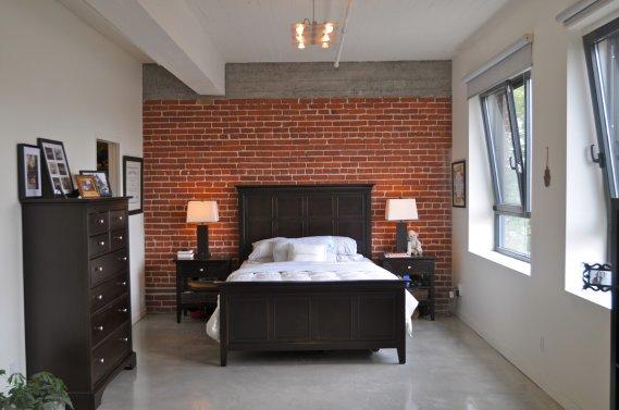 un loft dans le mile end val rie v zina maisons de luxe. Black Bedroom Furniture Sets. Home Design Ideas
