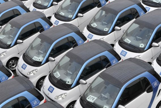 Le service car2go existe dans quatre villes dans le monde: Ulm et Hambourg en Allemagne, Austin aux États-Unis et Vancouver au Canada.