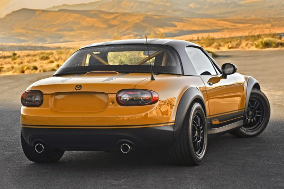 La Mazda MX-5 Super20. (Photo Mazda)