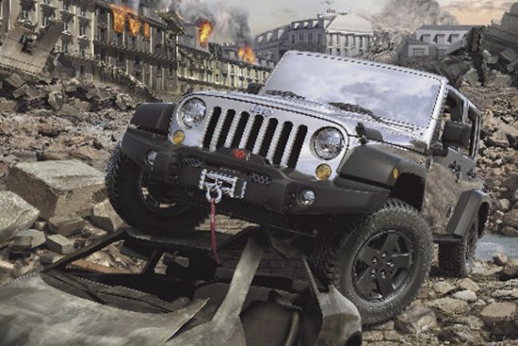 Le Jeep Wrangler Call of Duty: MW3 Special Edition.