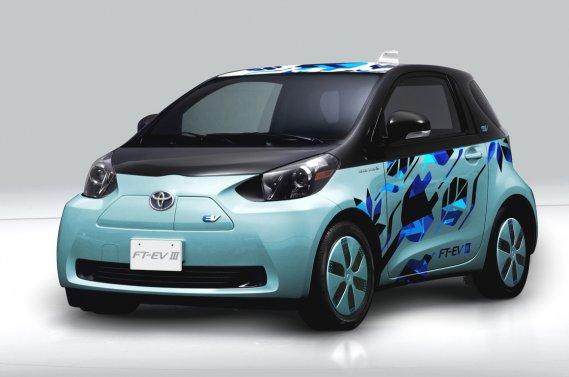 Toyota affirme vouloir lancer dès l'an prochain la FT-EV III, un véhicule électrique conçu pour de courtes distances.