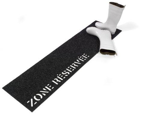 Zone réservée, 92$ (14 po sur 54 po), www.coupercroiser.com (André Noël pour Couper Croiser)