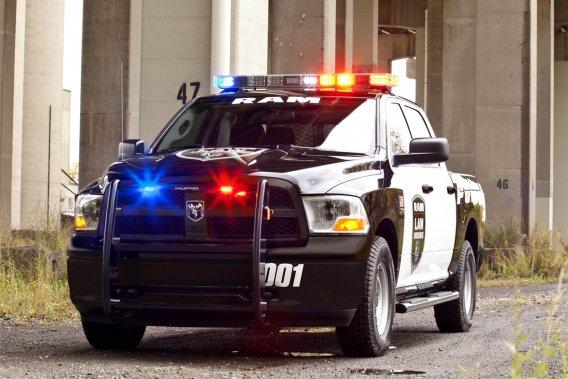 Chrysler produit maintenant une version de sa populaire camionnette Ram pour les policiers et les premiers répondants, avec tous les ajouts technologiques nécessaires.
