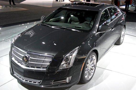 La Cadillac XTS, présentée au salon de l'auto de Los Angeles.