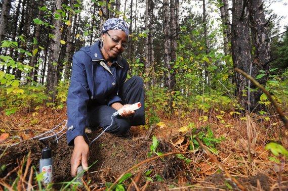 «L'humidité du sol est un paramètre clé, une variable initiale essentielle à toutes les sciences environnementales», explique Ramata Magagi. (Imacom, Jessica Garneau)