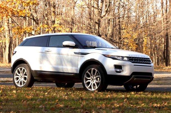 Le Range Rover Evoque 2012. (Éric LeFrançois, collaboration spéciale)