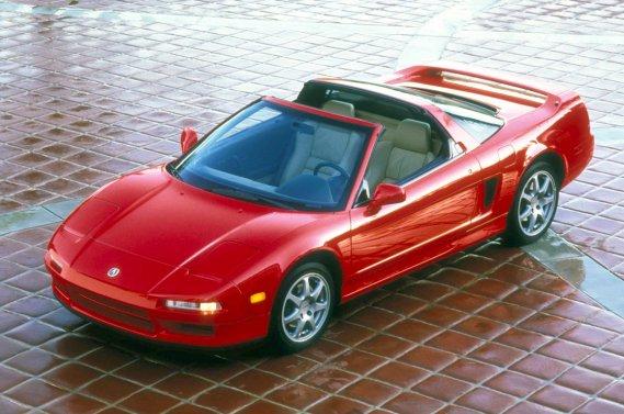 L'Acura NSX de 1995.