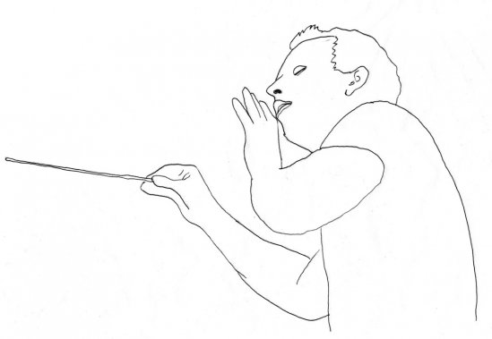 Yannick Nézet-Séguin (Illustration: Johan Batier, La Presse)
