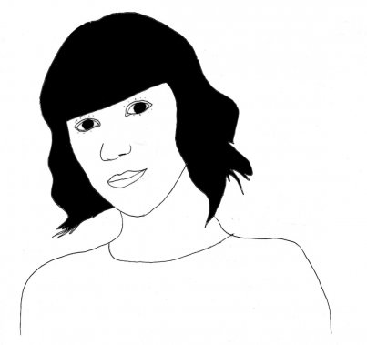 Karine Vanasse (Illustration: Johan Batier, La Presse)