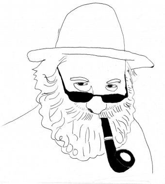 Victor Lévy-Beaulieu (Illustration: Johan Batier, La Presse)