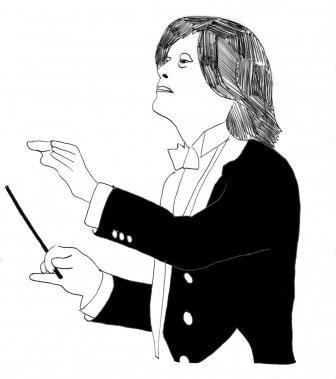 Kent Nagano (Illustration: Johan Batier, La Presse)