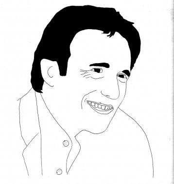 Mario St-Amand (Illustration: Johan Batier, La Presse)