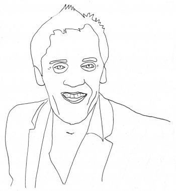 Jean-Marc Vallée (Illustration: Johan Batier, La Presse)