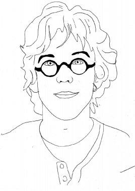 Fred Pellerin (Illustration: Johan Batier, La Presse)