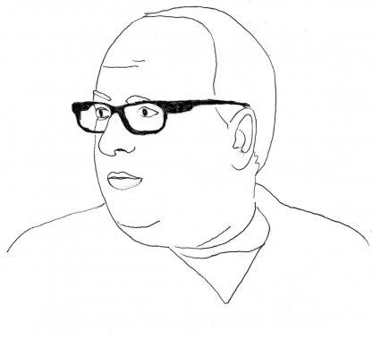 Denis Marleau (Illustration: Johan Batier, La Presse)
