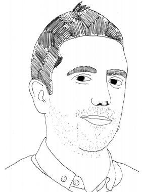 David Altmejd (Illustration: Johan Batier, La Presse)