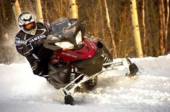 La Yamaha RS Vector L-TX est une motoneige tout-terrain. (Photo Yamaha)