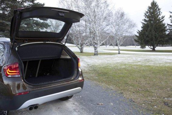 BMW X1: consommation obtenue dans le cadre de l'essai: 10,7 L/100 km (Éric LeFrançois, collaboration spéciale)