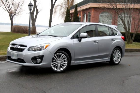 La Subaru Impreza 2012.