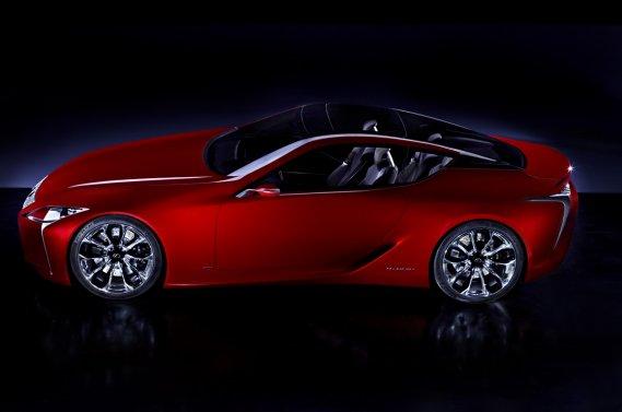Le prototype Lexus LF-LC sera présenté au salon de Detroit.