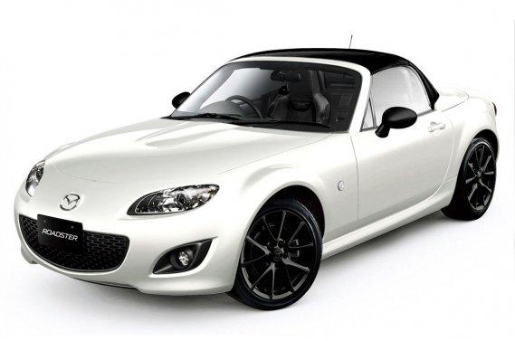 La Mazda MX-5 Special Edition.