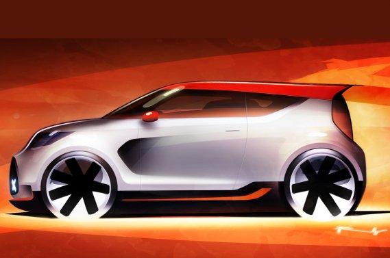Le concept Kia Track'ster.