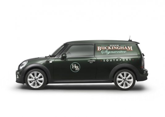 Le concept MINI Clubvan.