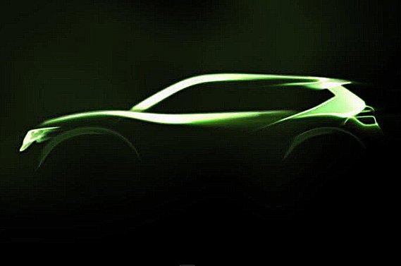Le concept Nissan Hi-Cross.