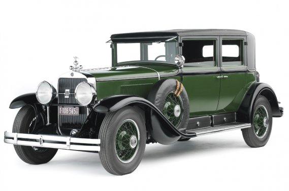 La Cadillac blindée d'Al Capone.