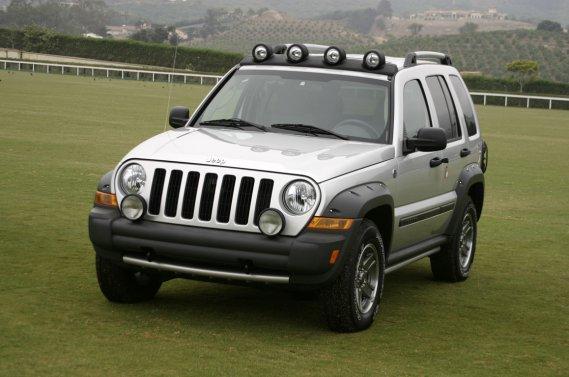Le Jeep Liberty 2005.