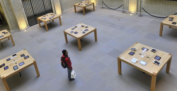 Le magasin d'Apple à Londres. (Photo: Reuters)
